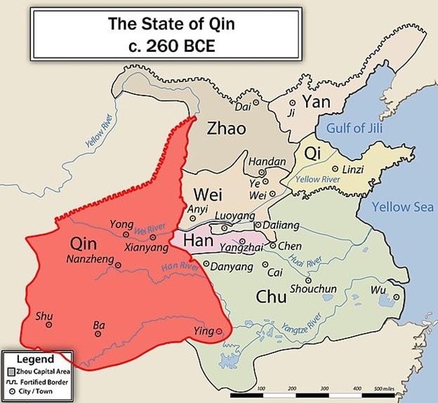 Qin State Railway