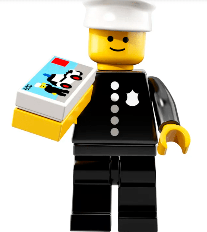 Police Officer Minifigure
