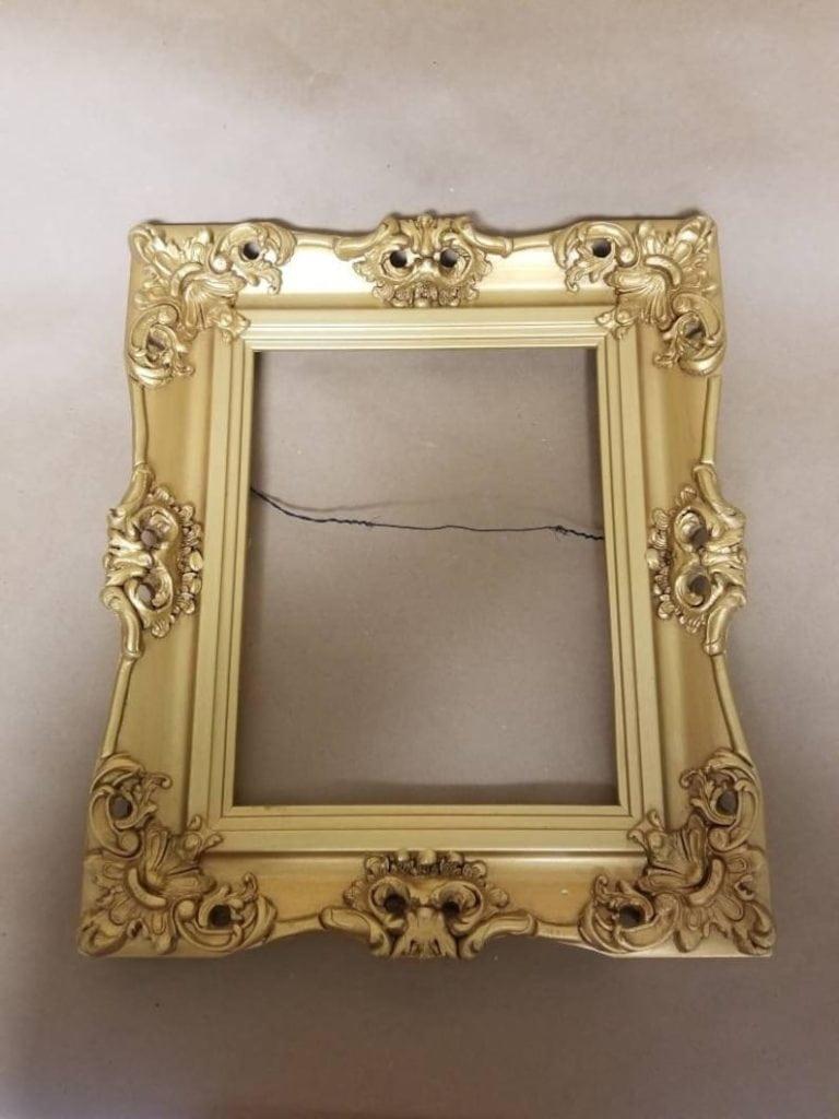 Oversized Gilded Frame
