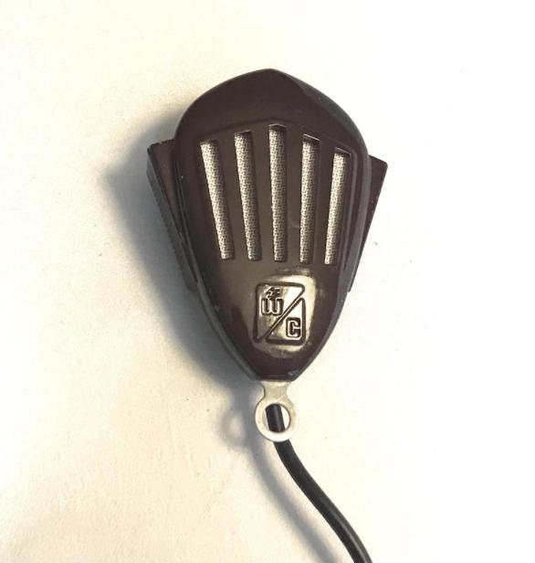 Vintage Art Deco Webster Chicago MM-38 HiZ Crystal Microphone- In Original Box