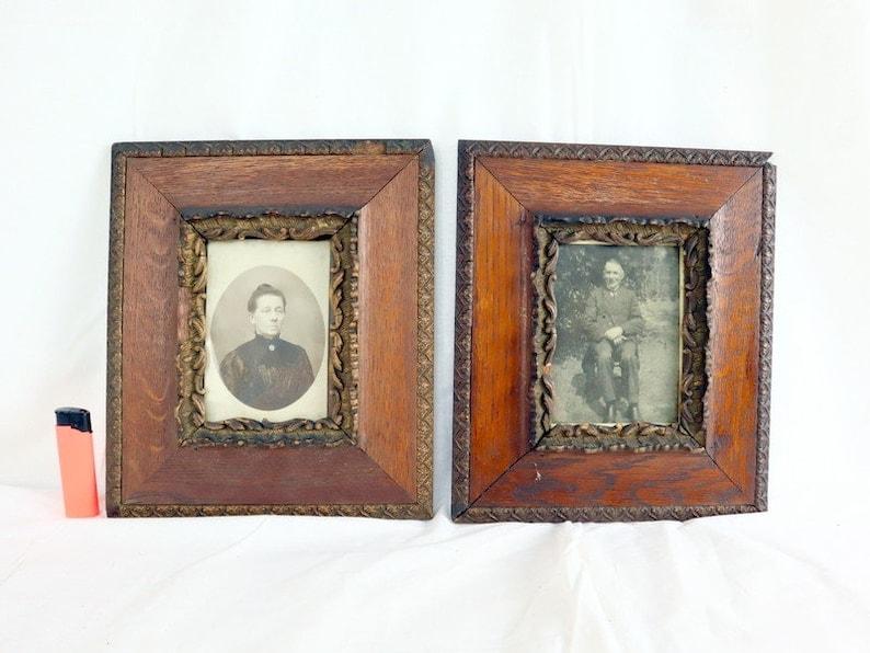 Two Handmade Wooden Frames
