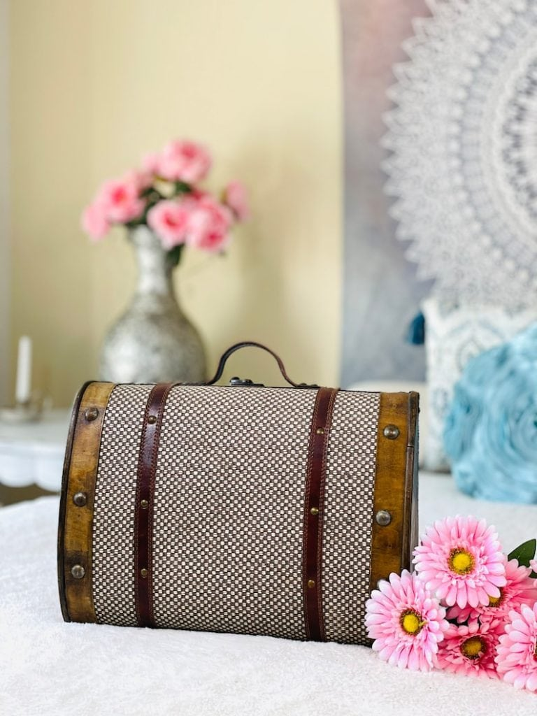 Wooden Small Luggage