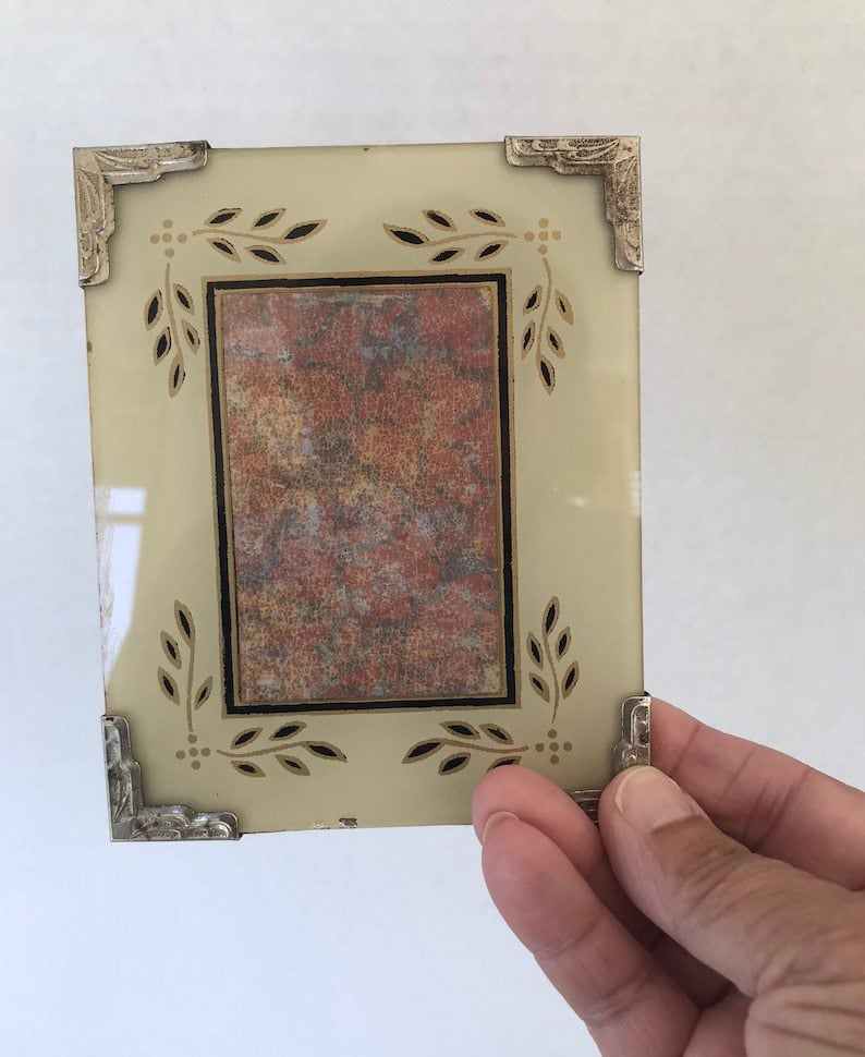 Reverse-Painted Glass