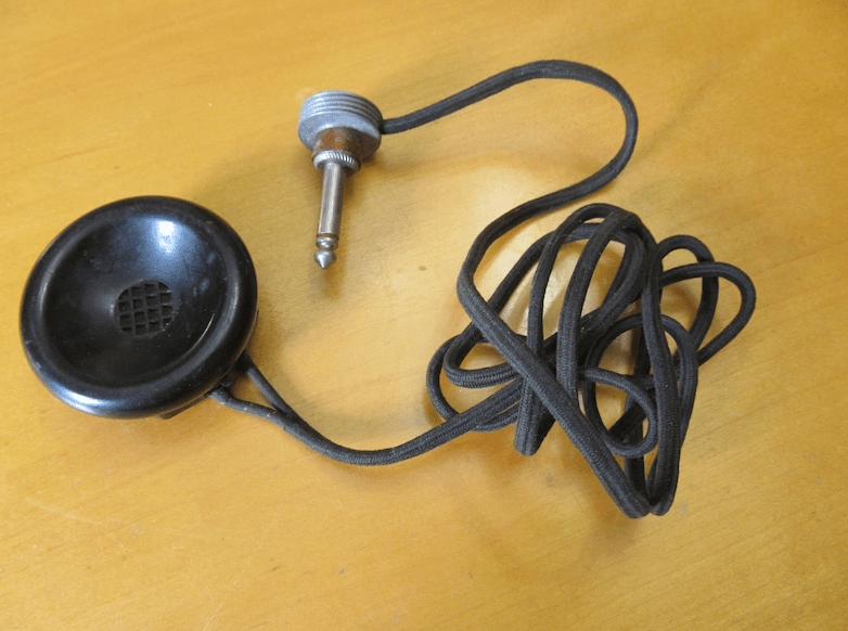 Vintage Microphone by Brush