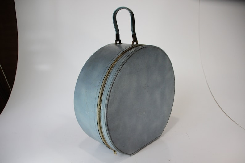Blue Hatbox