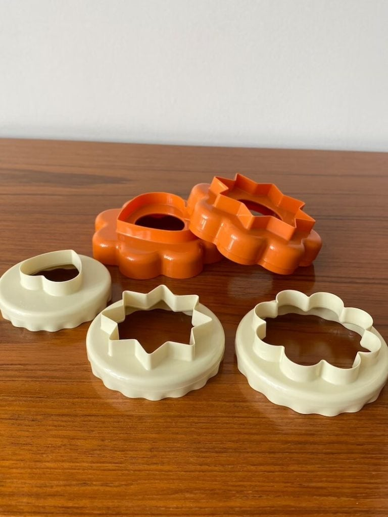 Set of Tupperware Pastry/Cookie Cutters
