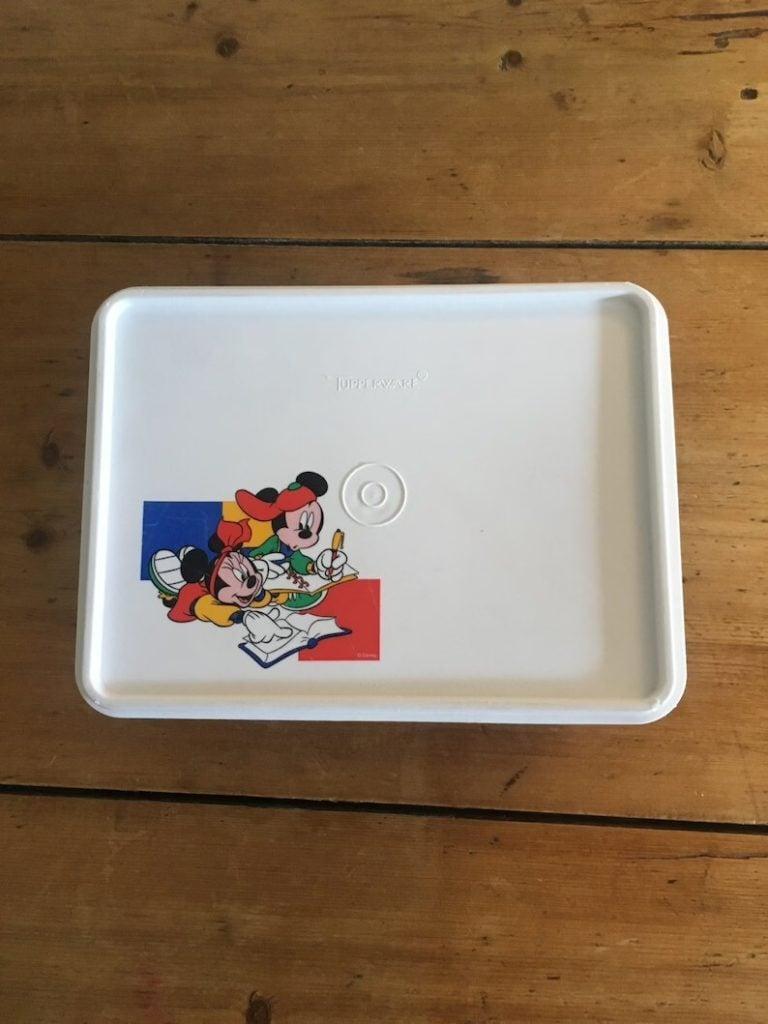 Tupperware Disney Mickey Mouse Tuppercraft Storage Box