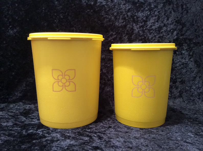 Tupperware Servalier Storage Containers with Lids