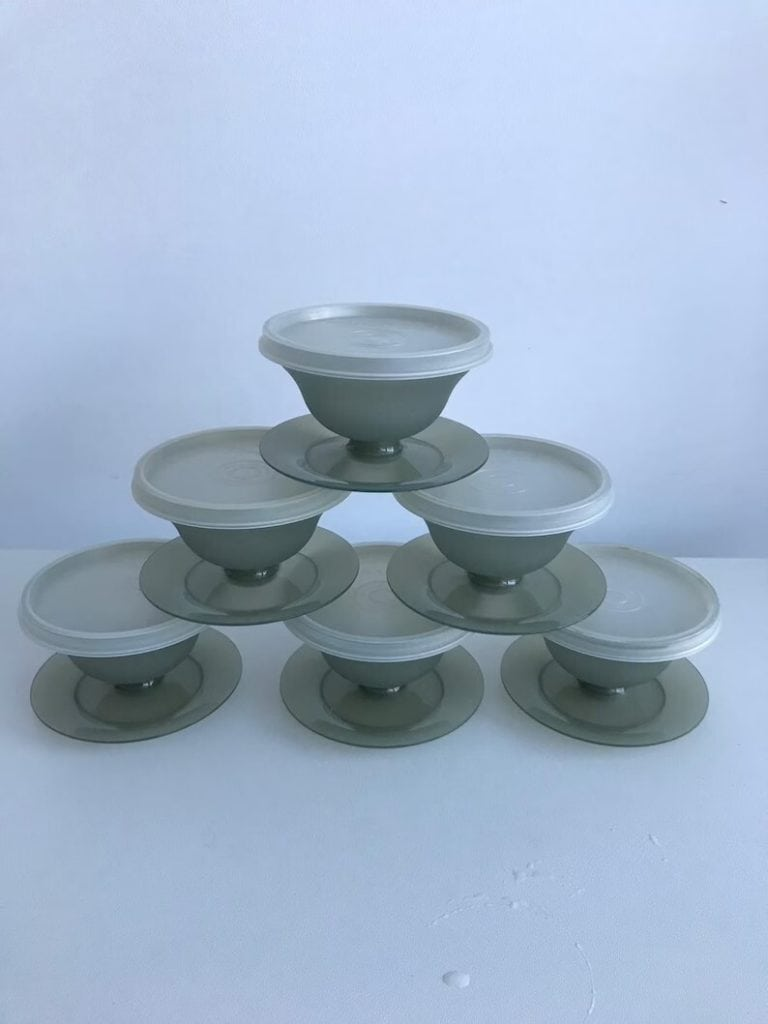 Vintage Tupperware Sundae Set