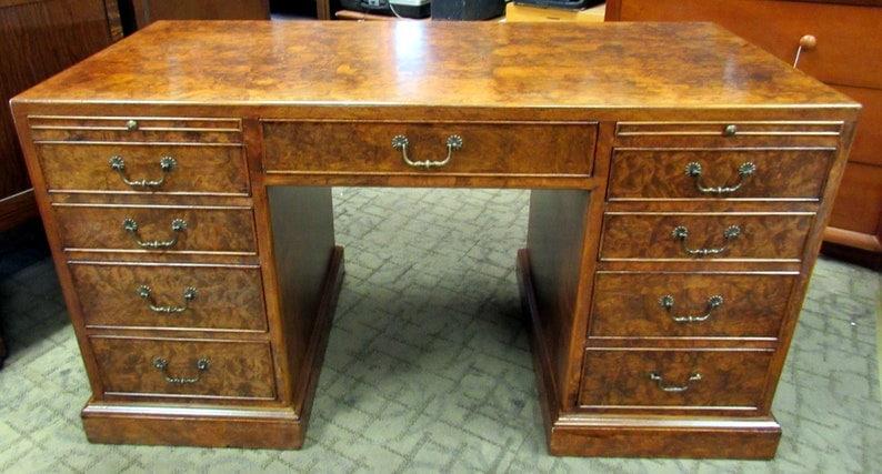Burlwood Desk
