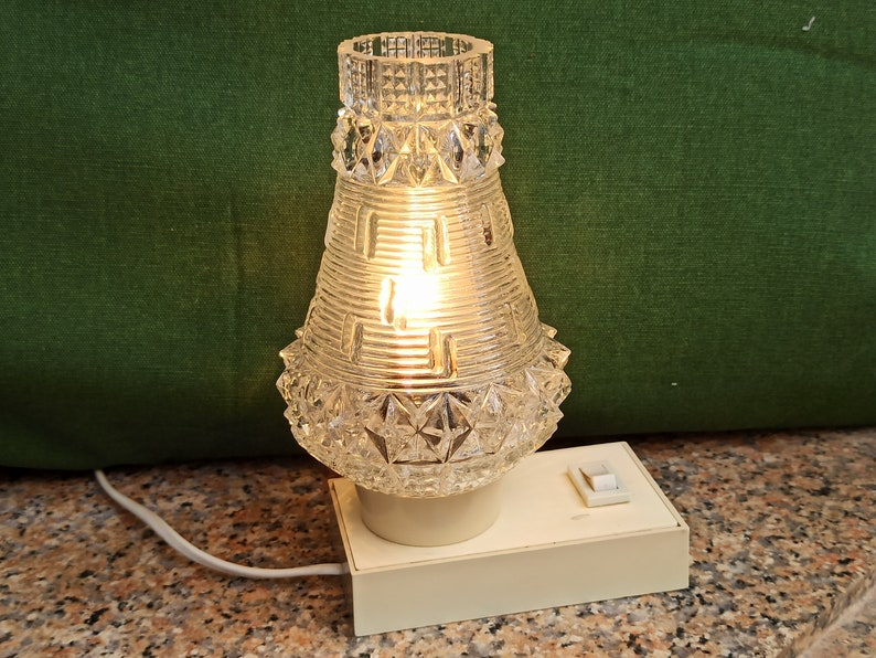 1970s Table Lamp, small Hawill Space Age Lamp