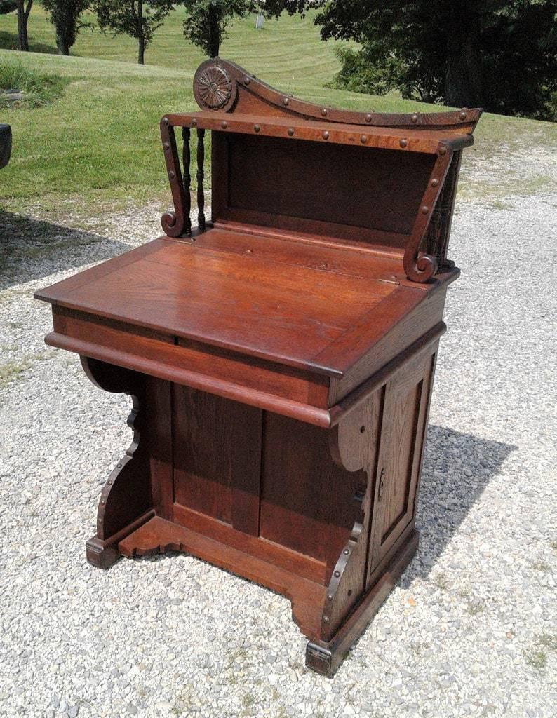 Art Nouveau Davenport Desk