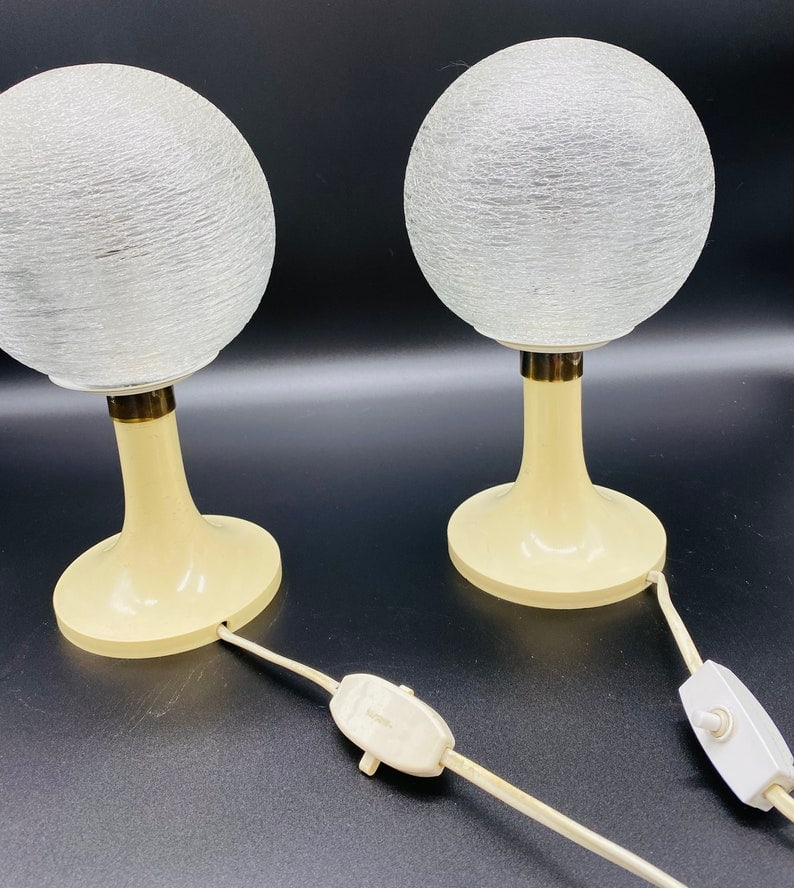 A Pair of 60s DORIA Table Lamps