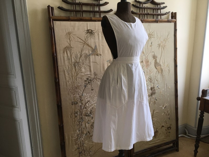 Antique French apron