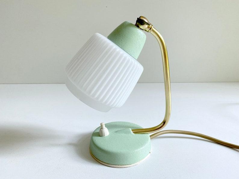 Stylish Vintage Bedside Lamp, Mid Century Retro Table Light