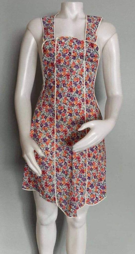 Vintage Apron Full apron Floral Print
